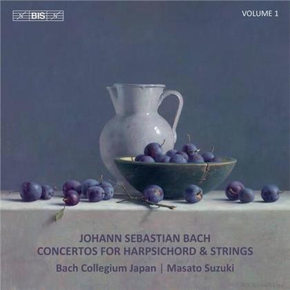 Bach Collegium Japan, Johann Sebastian Bach (1685-1750) & Maasaki Suzuki - Concertos For Harpsichord 1 (Hybrid SACD)