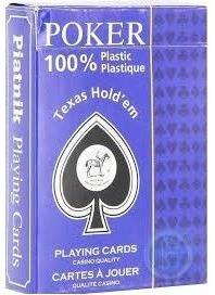 Plastik Poker Texas Hold ´em - Corner Index**