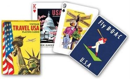 Travel USA - Vintage Playing Cards