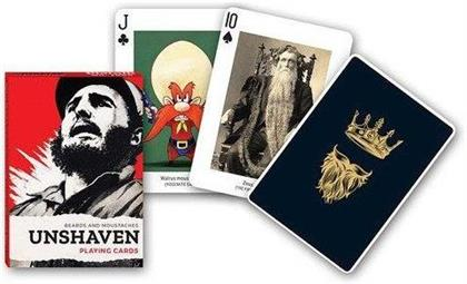 Unshaven: Beards and Moustaches - Playing Cards