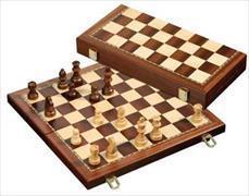 Schachkassette - Feld 42 mm - magnetisch