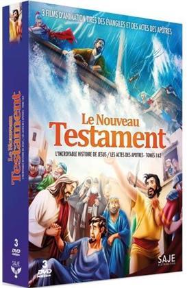 Le Nouveau Testament - L'incroyable histoire de Jesus / Les actes des apotres - Tomes 1 & 2 (3 DVDs)