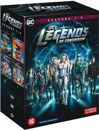 DC's Legends of Tomorrow - Saisons 1-4 (15 DVDs)