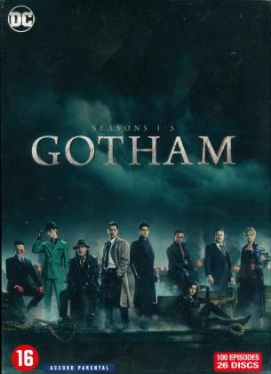 Gotham - Saisons 1-5 (26 DVDs)