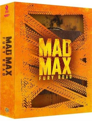 Mad Max - Fury Road (2015) (+ Goodies, Edizione Limitata, Steelbook, 4K Ultra HD + Blu-ray)