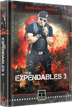 The Expendables 3 (2014) (Cover B, Limited Edition, Mediabook, Blu-ray + DVD)