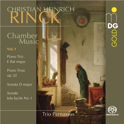 Trio Parnassus & Christian Heinrich Rinck (1770-1846) - Chamber Music 1 (Hybrid SACD)