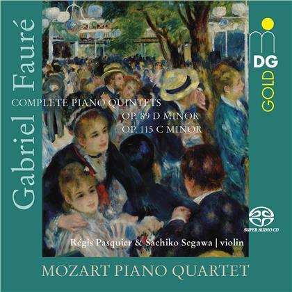 Mozart Piano Quartet & Gabriel Fauré (1845-1924) - Complete Piano Quintets - No. 1 & 2 (Hybrid SACD)