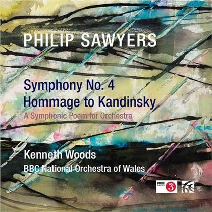 BBC National Orchestra Of Wales, Philip Sawyers (*1951) & Kenneth Woods - Symphony 4