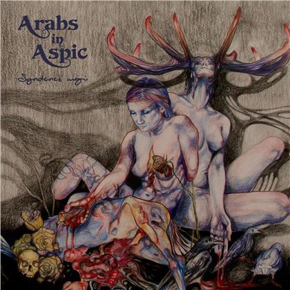 """Arabs In Aspic - Syndenes Magi (2020 Reissue, """"Black Clouds"""" Marble Vinyl, LP)"""