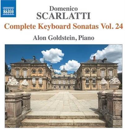 Domenico Scarlatti (1685-1757) & Alon Goldstein - Complete Keyboard Sonatas 24
