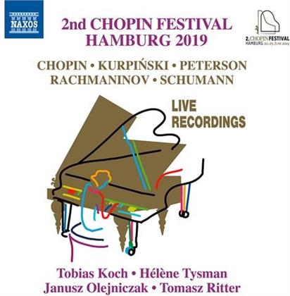 Frédéric Chopin (1810-1849), Karol Kurpinski (1785-1857), Sergej Rachmaninoff (1873-1943), Robert Schumann (1810-1856), Tobias Koch, … - 2Nd Chopin Festival Hamburg