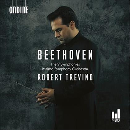 Ludwig van Beethoven (1770-1827), Robert Trevino & Malmö Symphony Orchestra - 9 Symphonies (Hybrid SACD)