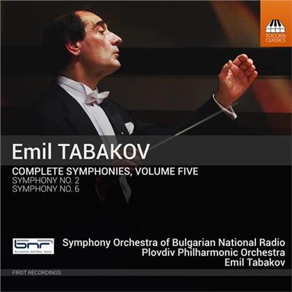 Emil Tabakov (*1947), Emil Tabakov (*1947), Symphony Orchestra Of Bulgarian National Radio & Plovdiv Philharmonic Orchestra - Complete Symphonies 5