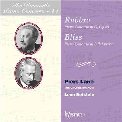 Edmund Rubbra (1901-1986), Sir Arnold Bax (1883-1953), Sir Arthur Bliss (1891-1975), Leon Botstein, Piers Lane, … - Romantic Piano Concerto V