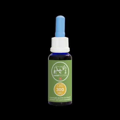 Hanfpfoten CBD-Öl 300mg - 30ml - für Katzen und kleine Hunde