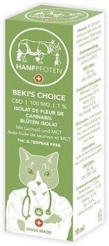 Hanfpfoten Cats BEKI'S CHOICE - 100mg - Breitspektrum Cannabis Öl für Katzen