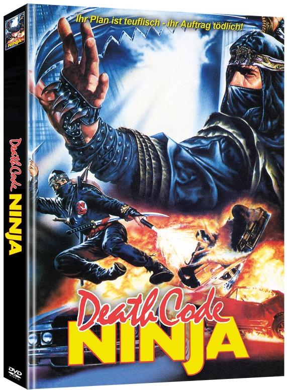 Death Code Ninja (1987) (Eastern Classics, Limited Edition, Mediabook, 2 DVDs)