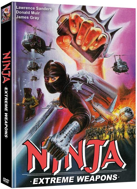 Ninja Extreme Weapons (1988) (Eastern Classics, Limited Edition, Mediabook, 2 DVDs)