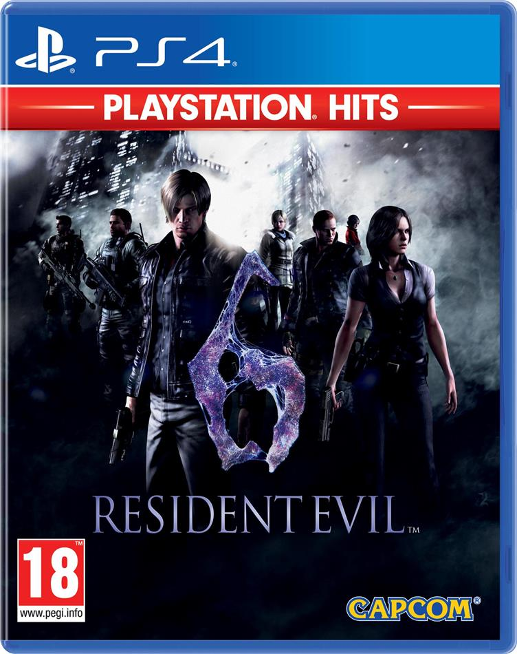 Resident Evil 6 - Playstation Hits