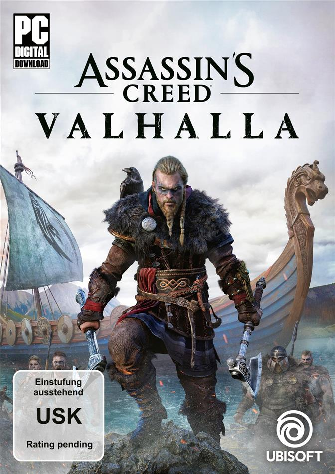 Assassins Creed Valhalla - (Code in a Box) (German Edition)