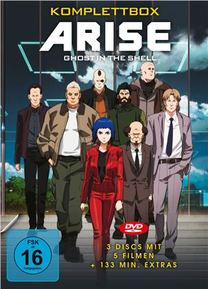 Ghost in the Shell - Arise - Komplettbox (3 DVDs)