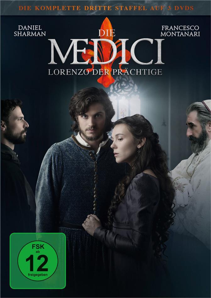 Die Medici - Staffel 3 - Lorenzo der Prächtige (3 DVDs)