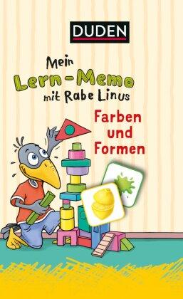 Mein Lern-Memo mit Rabe Linus – Farben und Formen