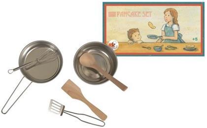 Pfannkuchenset aus Metall