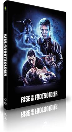 Rise of the Footsoldier (2007) (Extreme Edition, Cover A, Extended Edition, Limited Edition, Mediabook, Blu-ray + DVD)