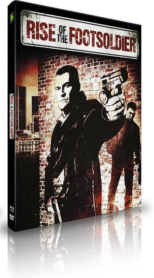Rise of the Footsoldier (2007) (Extreme Edition, Cover C, Extended Edition, Limited Edition, Mediabook, Blu-ray + DVD)