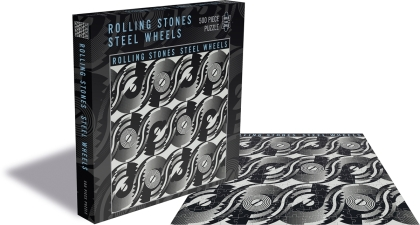 The Rolling Stones: Steel Wheels - 500 Piece Jigsaw Puzzle