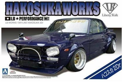 Aoshima - 1/24 Liberty Walk #4: 1/24 Lb Works Hakosuka 2Dr