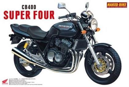 Aoshima - Naked Bike #009 1/12 Honda Cb400sf (Black) (Honda)