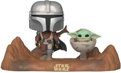 Funko Pop! Moment: - Star Wars - Mandalorian & Child