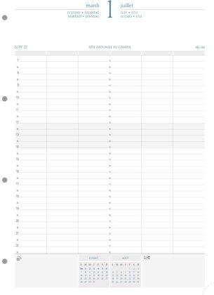 Kalender 2021. 1 Tag pro Seite 1 Jahr