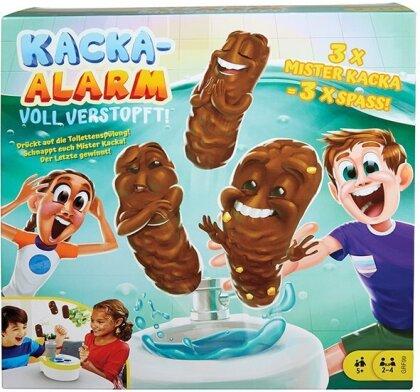 Kacka-Alarm! Voll verstopft - ab 5 Jahren, 2-4 Spieler