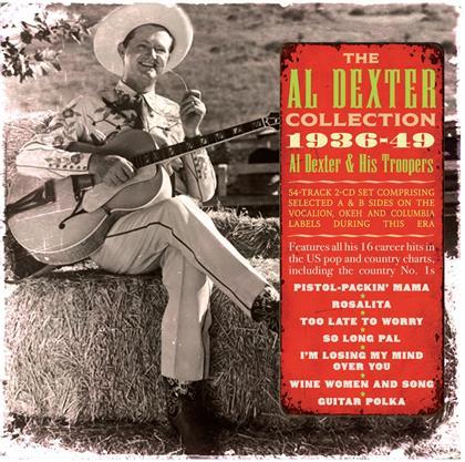 Al Dexter - Al Dexter Collection 1936 - 1949 (2 CDs)