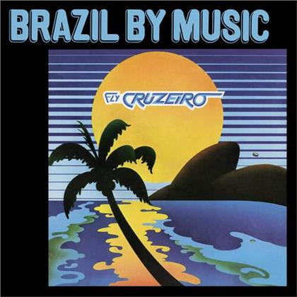 Marcos Valle & Azymuth - Fly Cruzeiro - Brazil By Music (2020 Reissue, Tidal Waves Music, Clear Vinyl, LP)