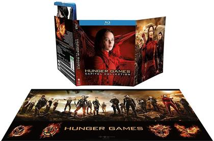 Hunger Games - Capitol Collection (Limited Edition, 4 Blu-rays)