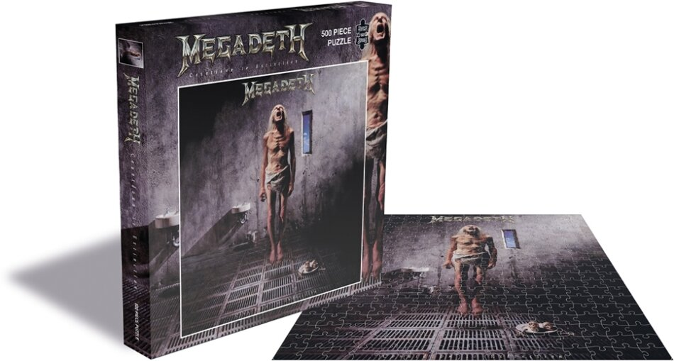 Megadeth: Countdown To Extinction - 500 Piece Jigsaw Puzzle