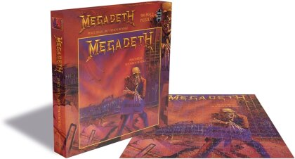 Megadeth: Peace Sells...But Who's Buying? - 500 Piece Jigsaw Puzzle
