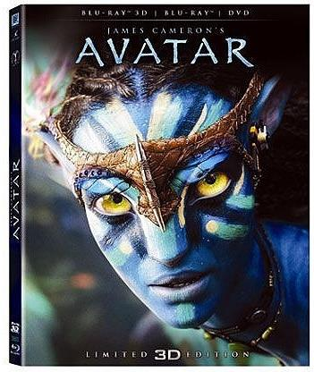 Avatar (2009) (Limited Edition, Blu-ray 3D + Blu-ray + DVD)