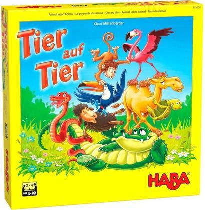 Tier auf Tier - Das wackelige Stapelspiel (Kinderspiel)