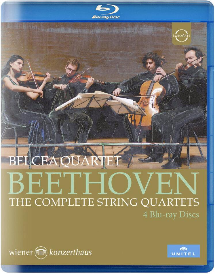 Belcea Quartet - Sämtliche Streichquartette (4 Blu-rays)