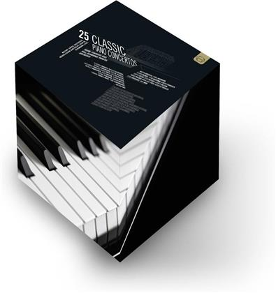Various Artists - 25 Classic Piano Concerts (8 DVDs)