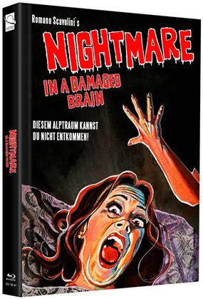 Nightmare in a Damaged Brain (1981) (Cover 1, Limited Edition, Mediabook)