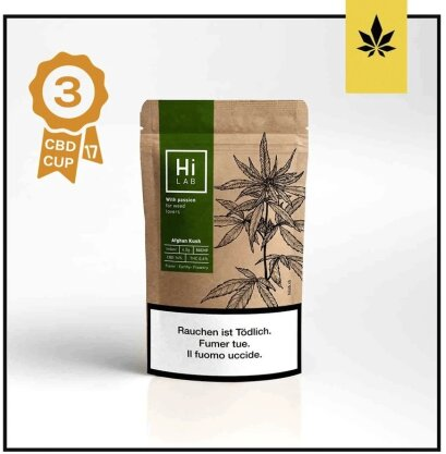 Hi Lab Afghan Kush (2g) - Indoor (22% CBD, 0.6% THC)