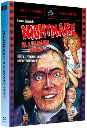 Nightmare in a Damaged Brain (1981) (Cover A, Limited Edition, Mediabook)