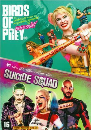 Birds of Prey et la fantabuleuse histoire de Harley Quinn (2020) / Suicide Squad (2016) (2 DVDs)